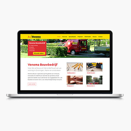 Venema Bouw | website